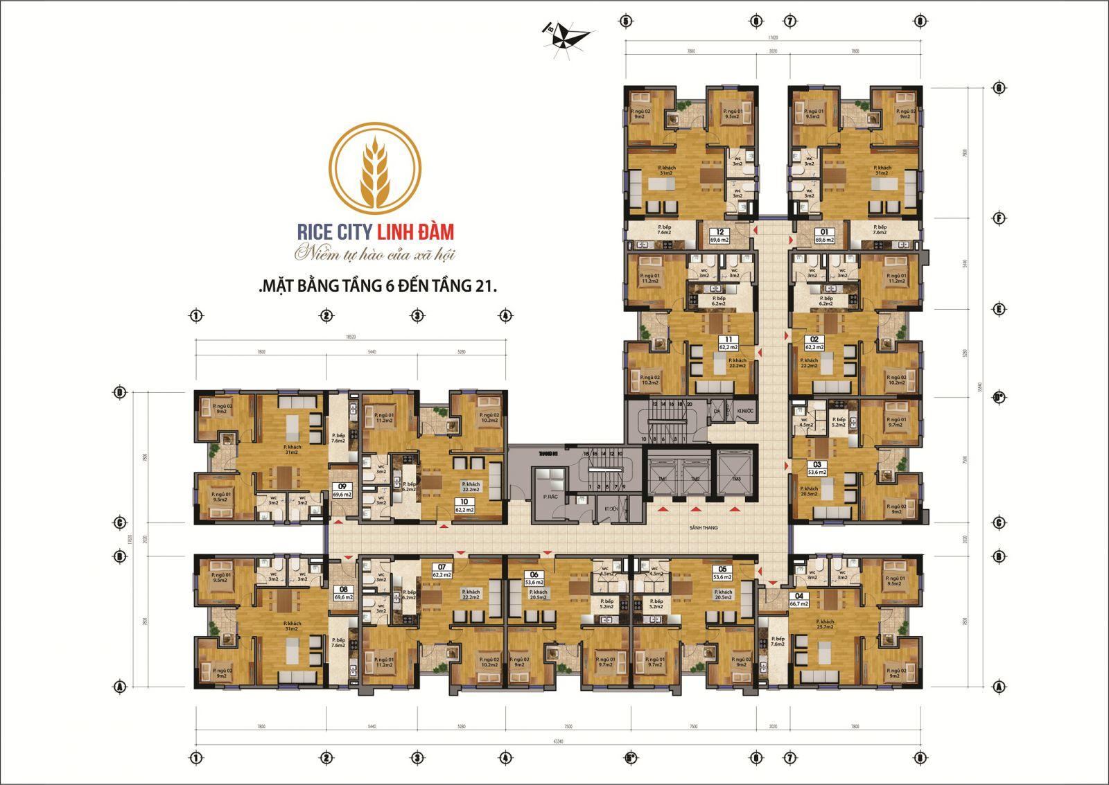 mặt-bằng-tòa-nam-tầng-6-21-rice-city-linh-đàm