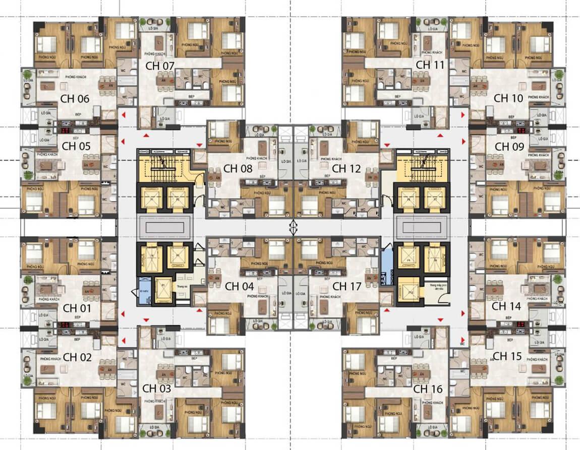 thiết-kế-tầng-22-31-dự-án-23-duy-tân