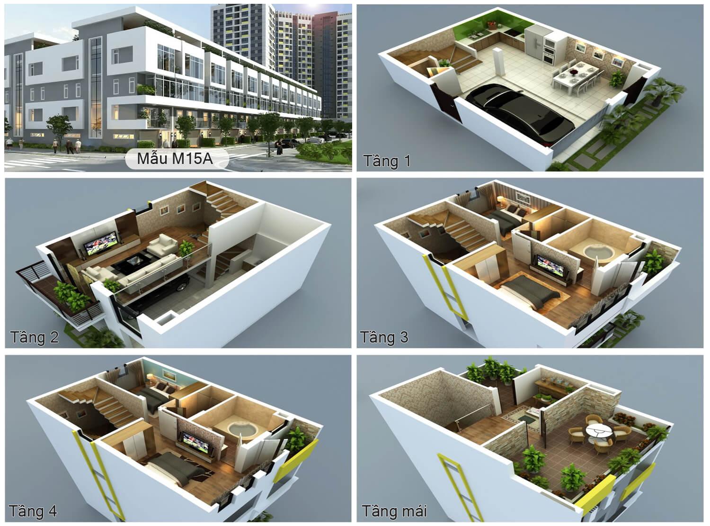 thiết-kế-mẫu-m15a-liền-kề-dự-án-rice-city-sông-hồng